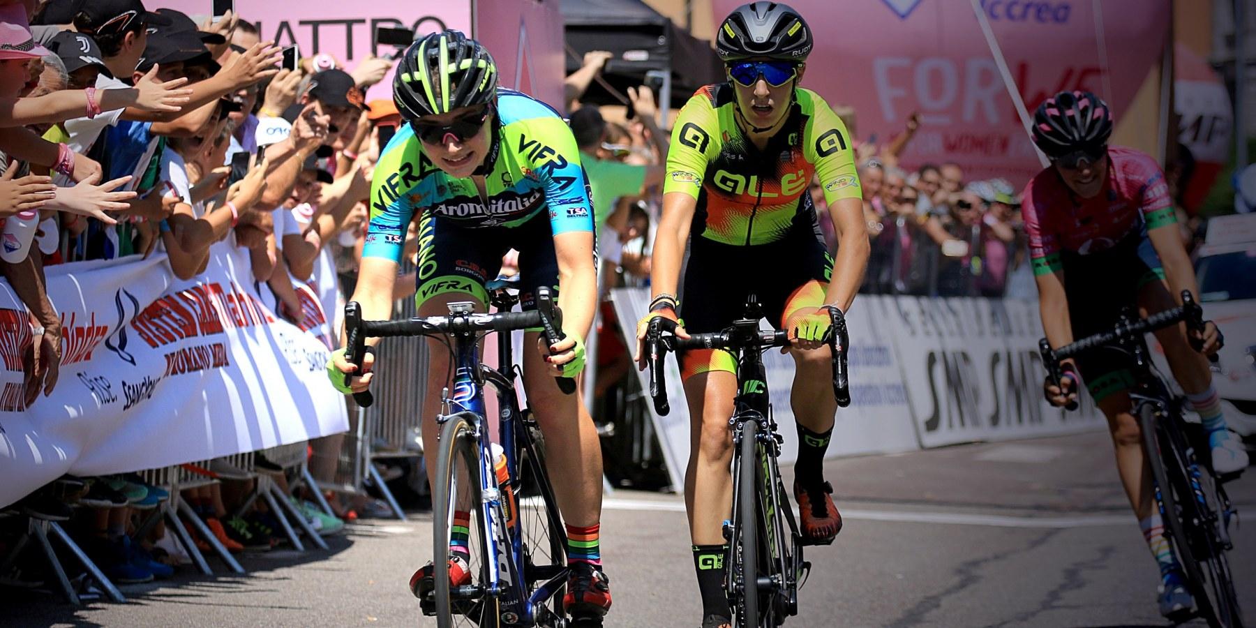 Letizia Borghesi Giro Rosa 2019